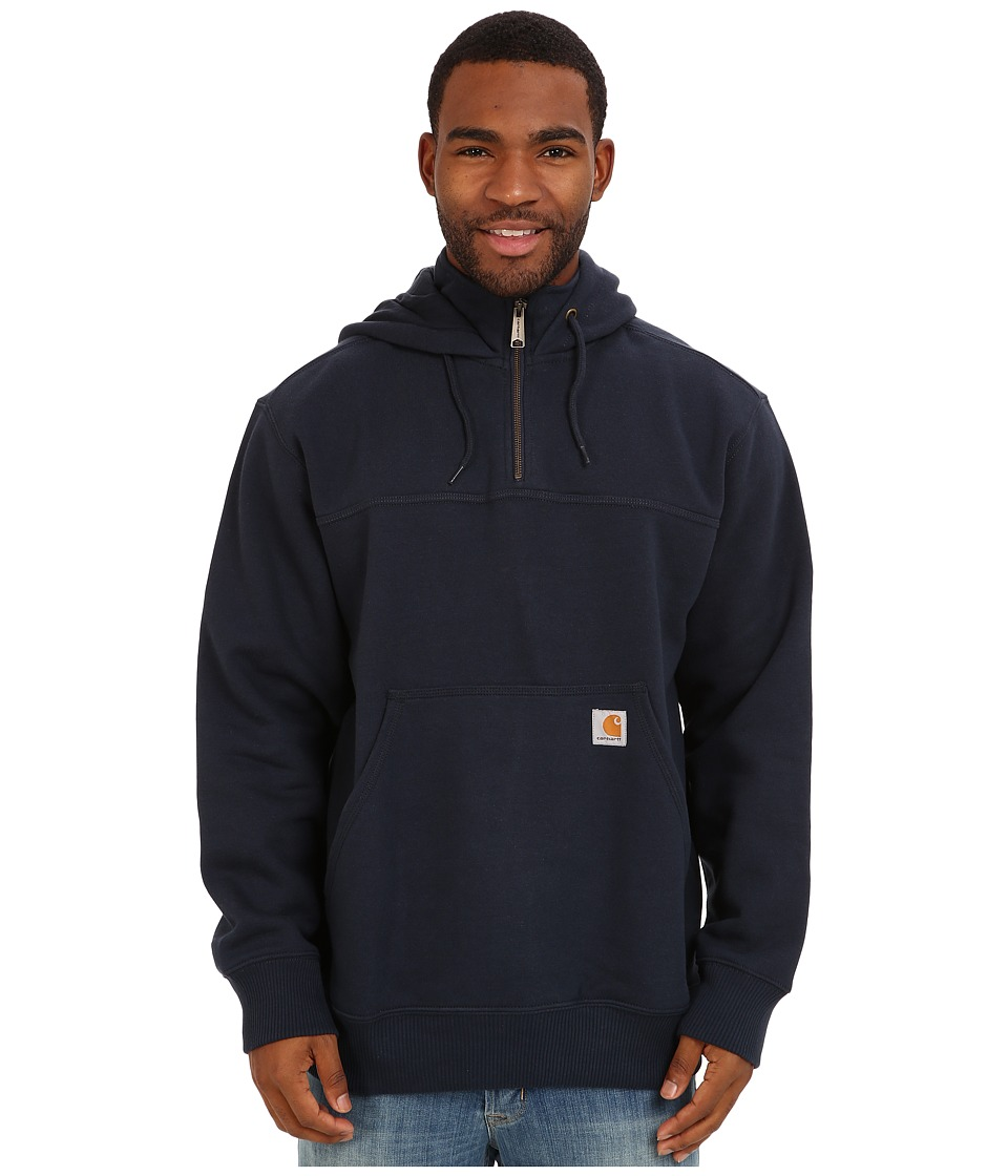 Carhartt - RD Paxton HW Hdd Zip Mock Sweatshirt (New Navy) Men's Sweatshirt
