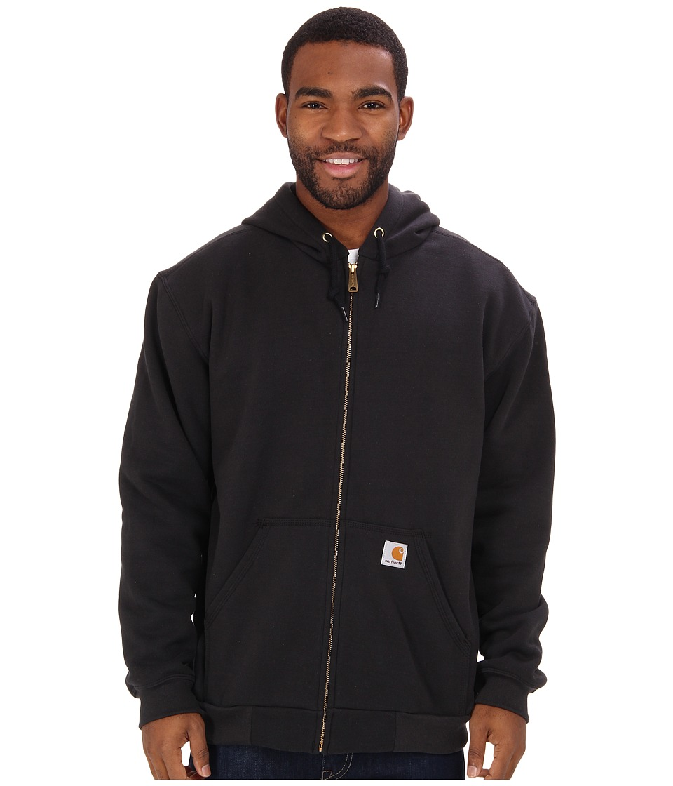 Carhartt - RD Rutland Thermal-Lined Hooded Zip-Front Sweatshirt (Black) Men's Sweatshirt