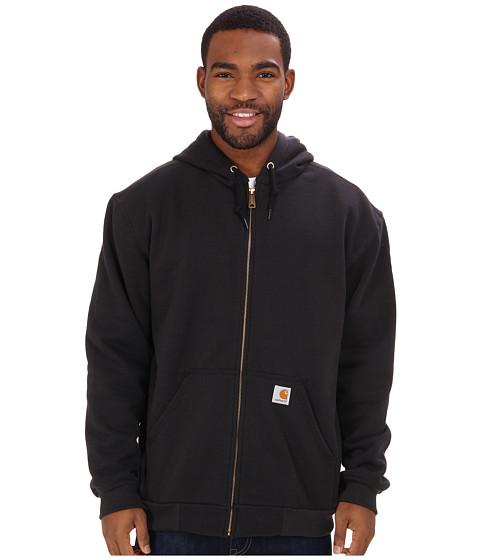 Carhartt - RD Rutland Thrml Lnd Hdd Zfnt Sweatshirt (Black) Men
