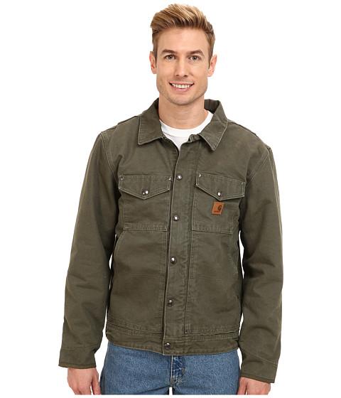 e68c24c2cd4 ... UPC 886859543666 product image for Carhartt - Berwick Jacket (Army  Green) Men's Coat ...