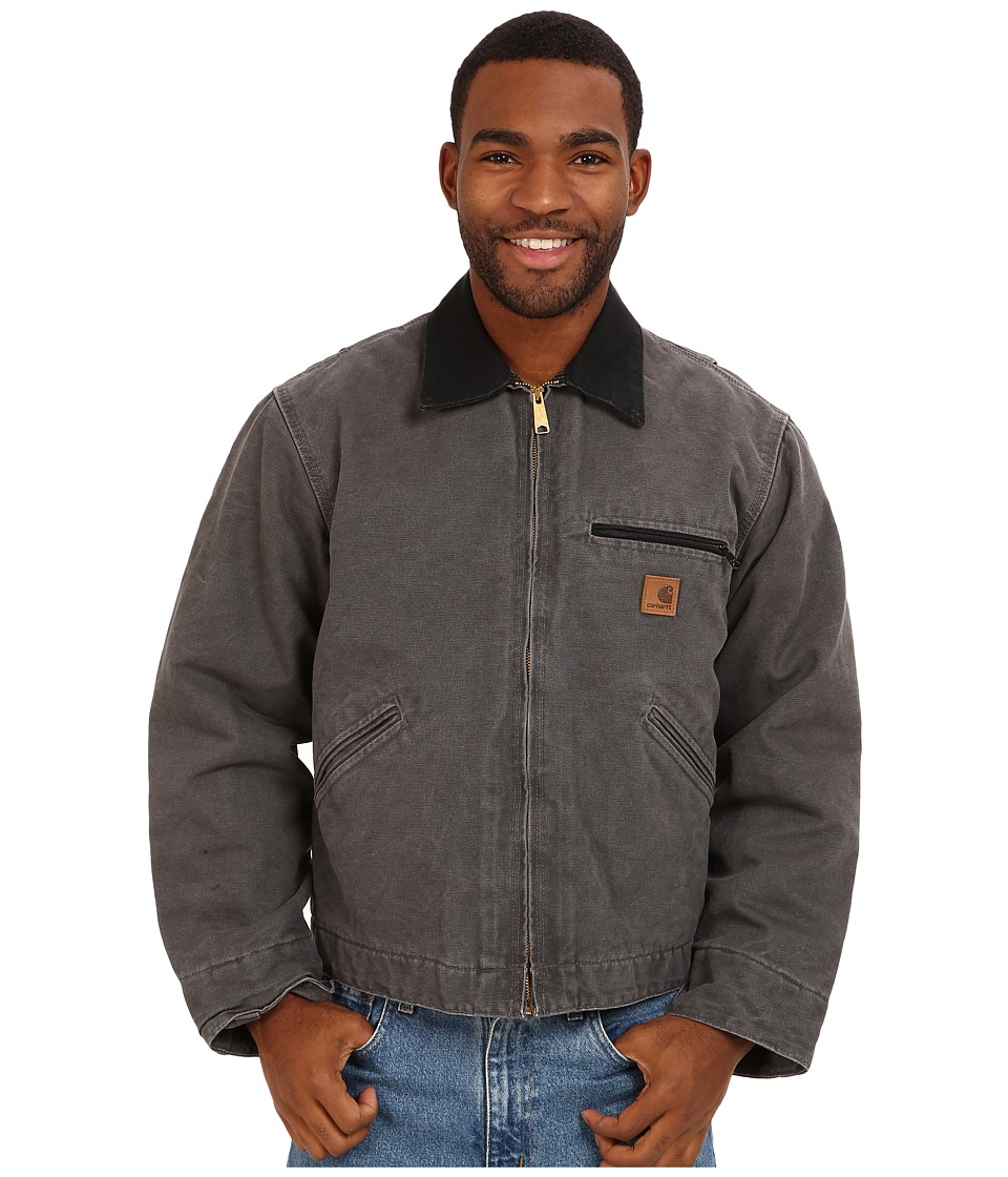 Carhartt - Sandstone Detroit Jacket (Gravel) Men's Jacket