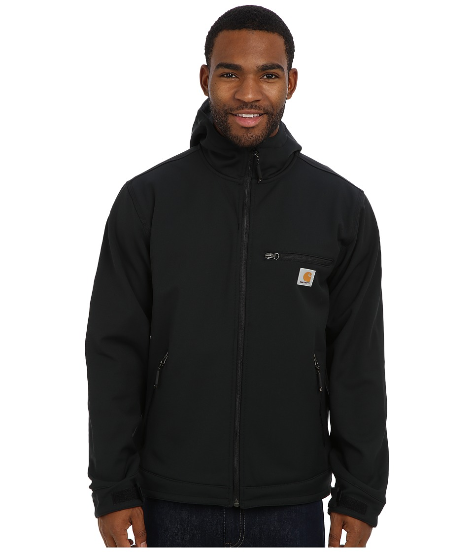 Carhartt - Crowley Hooded Jacket (Black) Men's Jacket