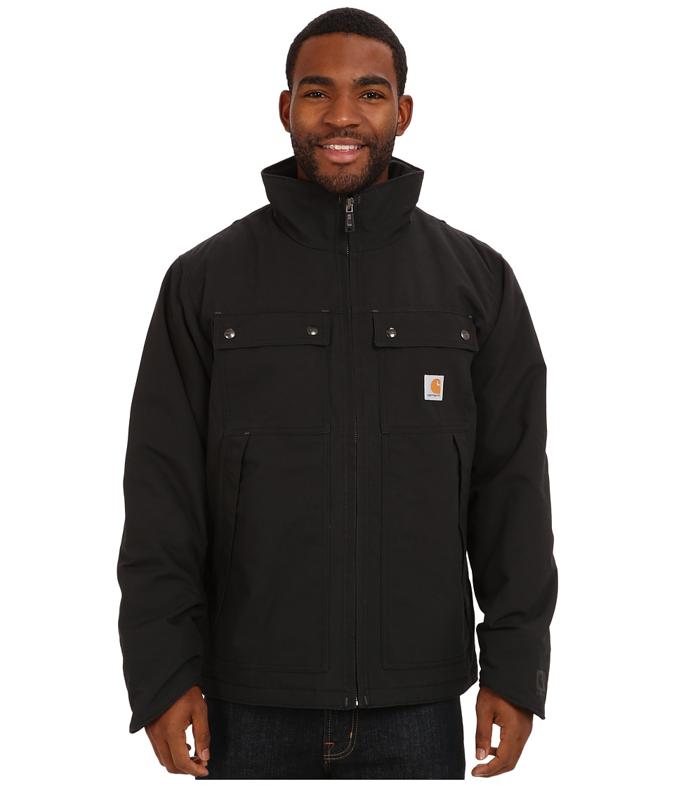 Carhartt - Quick Duck Jefferson Traditional Jacket (Black) Men's Coat
