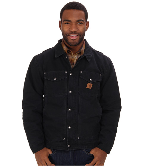 Carhartt - Berwick Jacket (Black) Men's Coat