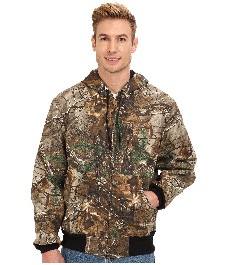 Carhartt - Thermal Lined Camo Active Jacket (Realtree Xtra) Men's Coat