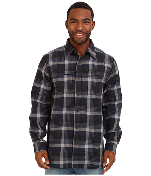 Carhartt - Force Reydell Long Sleeve Shirt (Navy) Men