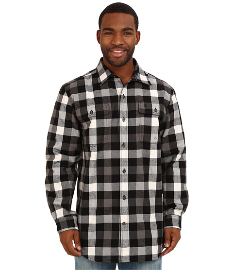Carhartt - Hubbard Plaid Shirt (Black) Men