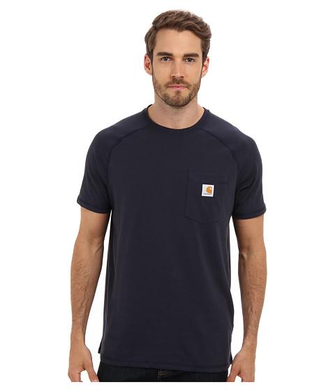 Carhartt - Force Cotton S/S T-Shirt (Navy) Men