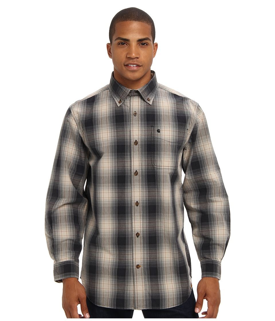 Carhartt - Bellevue L/S Shirt (Black) Men's Clothing