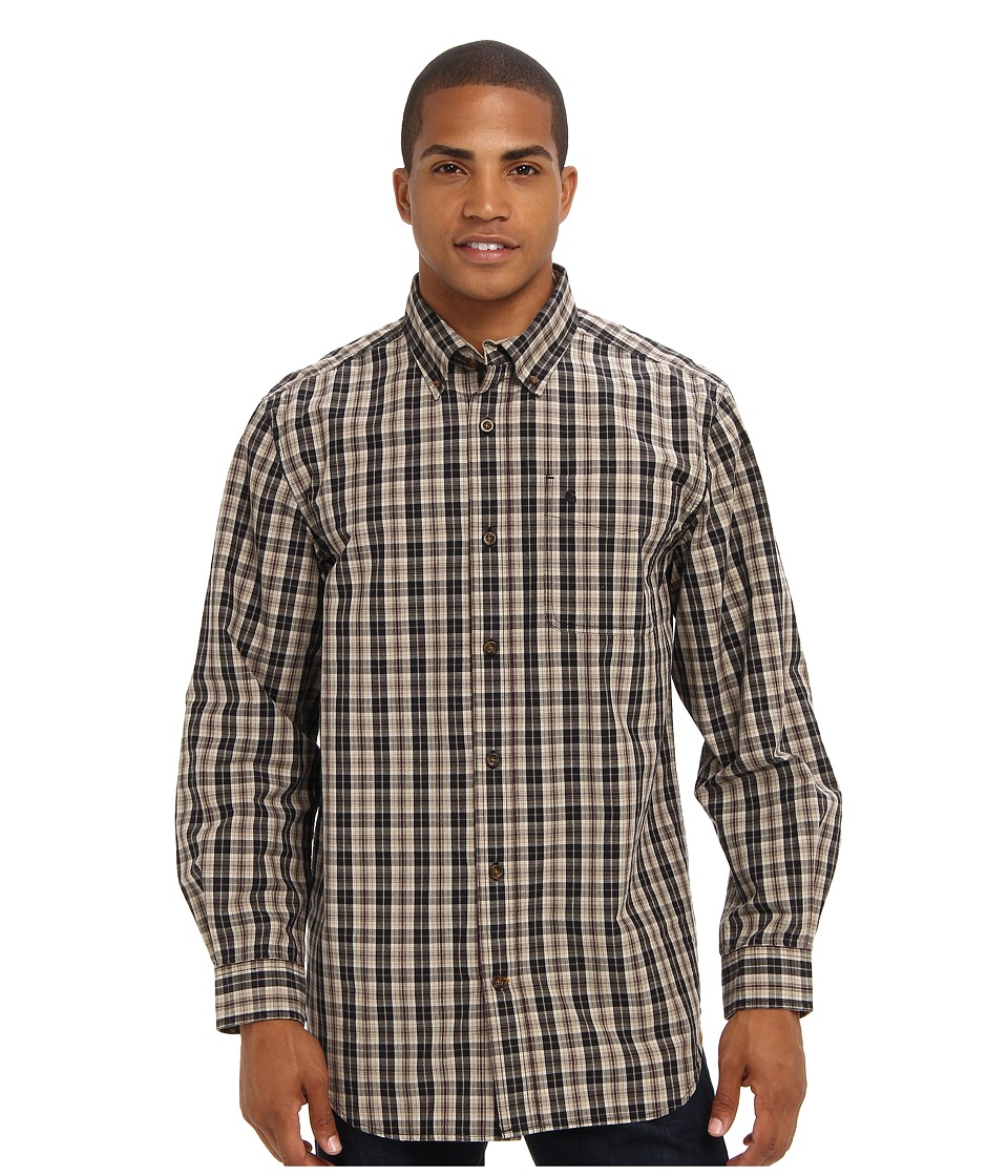 Carhartt - Bellevue L/S Shirt (Field Khaki) Men's Clothing