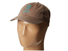 Life is good Vintage Canvas Chill Cap (Suede Brown)