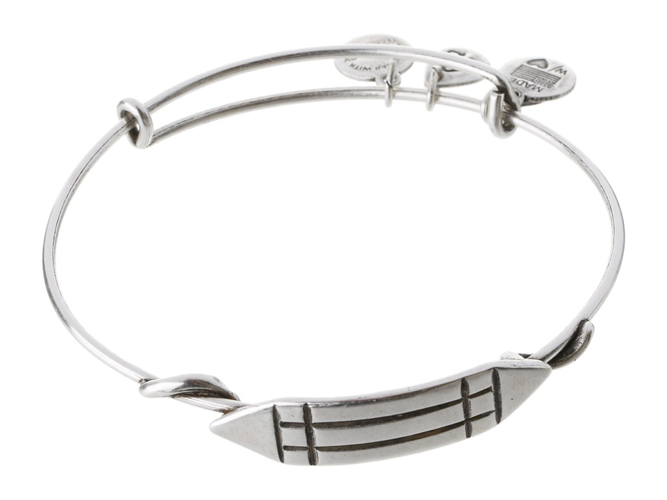 Alex and Ani - Atlantean Wrap (Rafaelian Silver Finish) Bracelet