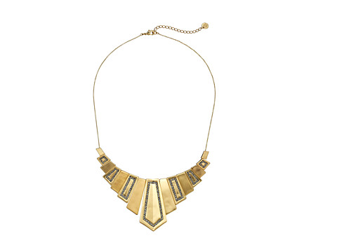 House of Harlow 1960 - Spire Deco Necklace (Gold) Necklace