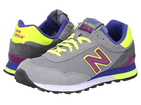 New Balance Classics - WL515 (Grey/Purple) Women's Classic Shoes