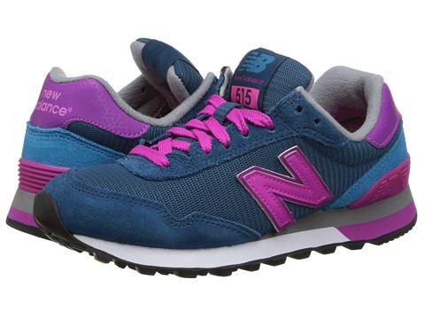 New Balance Classics - WL515 (Blue/Pink 1) Women's Classic Shoes