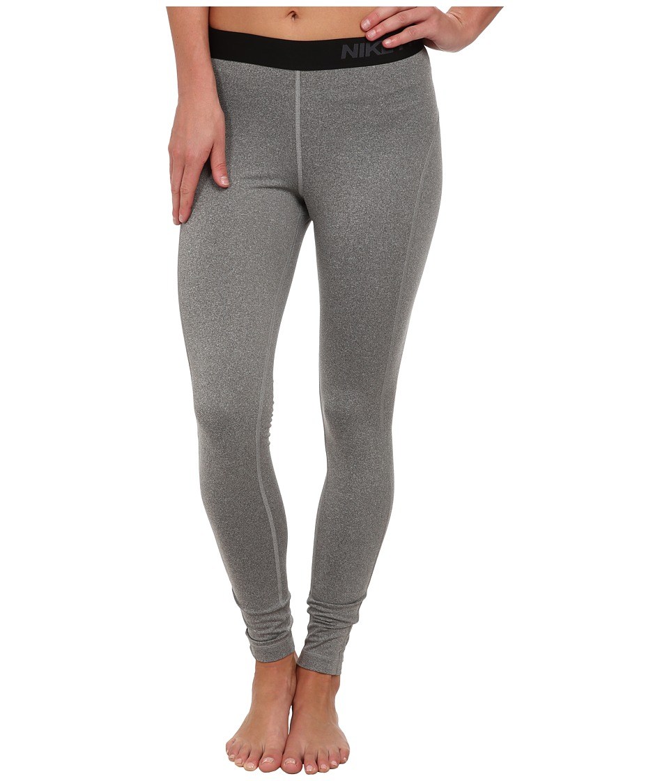 Nike - Pro Hyperwarm Tight 3.0 (Carbon Heather/Anthracite) Women's Workout