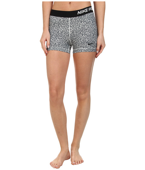 Nike - Pro Three-Inch Mezzo Short (Ivory/Dark Ash/Dark Ash) Women's Shorts