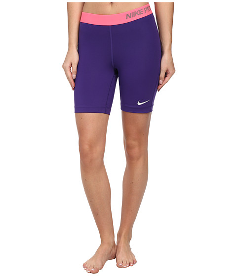 Nike - Pro Seven-Inch Short (Court Purple/Light Ash Grey) Women