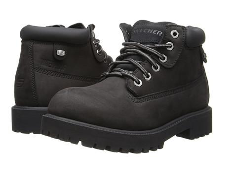 SKECHERS - Verdict (Black 2) Men's Lace-up Boots