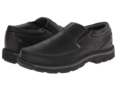 SKECHERS - Segment The Search (Black) Men's Shoes