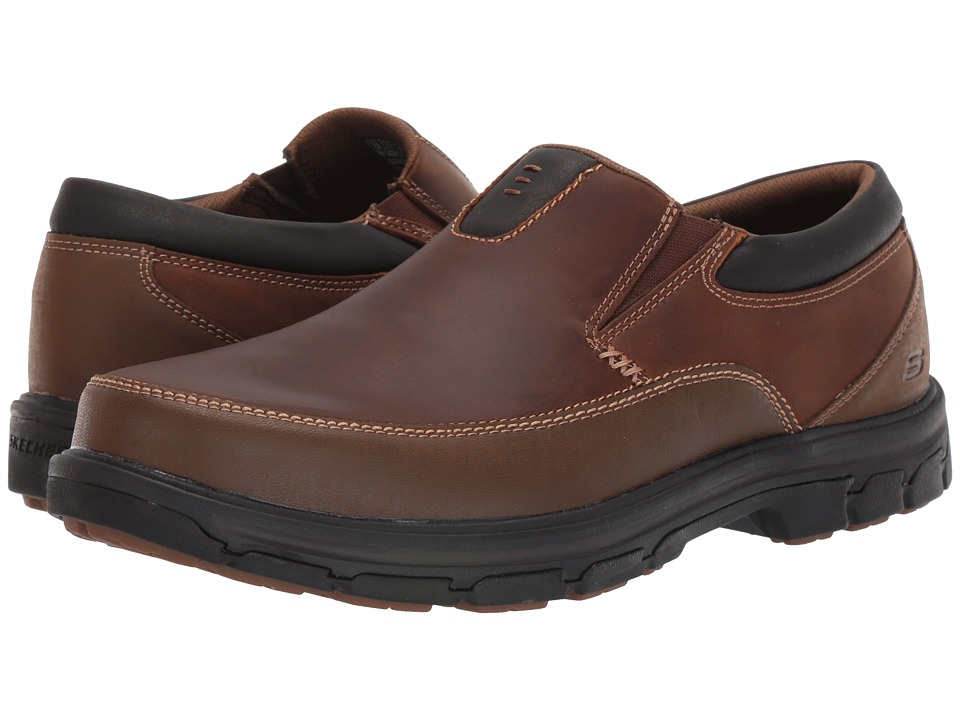 UPC 888222481278 product image for Men's Skechers Relaxed Fit Segment The Search  Brown | upcitemdb.