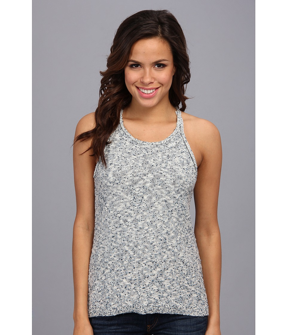 Lucky Brand - Space Dye Sweater Tank (Blue Multi) Women's Sleeveless