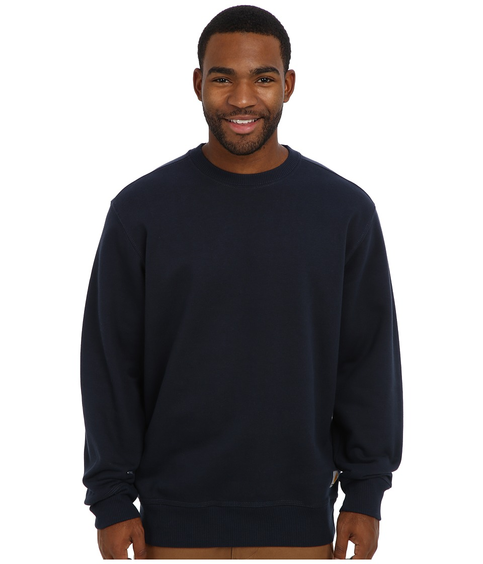 Carhartt - RD Paxton HW Crewneck Sweatshirt (New Navy) Men's Sweatshirt