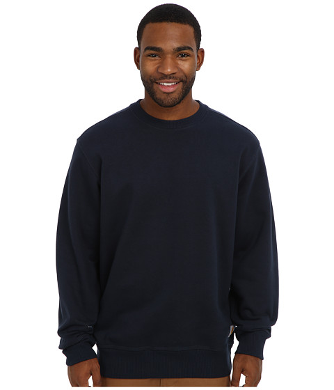 Carhartt - RD Paxton HW Crewneck Sweatshirt (New Navy) Men