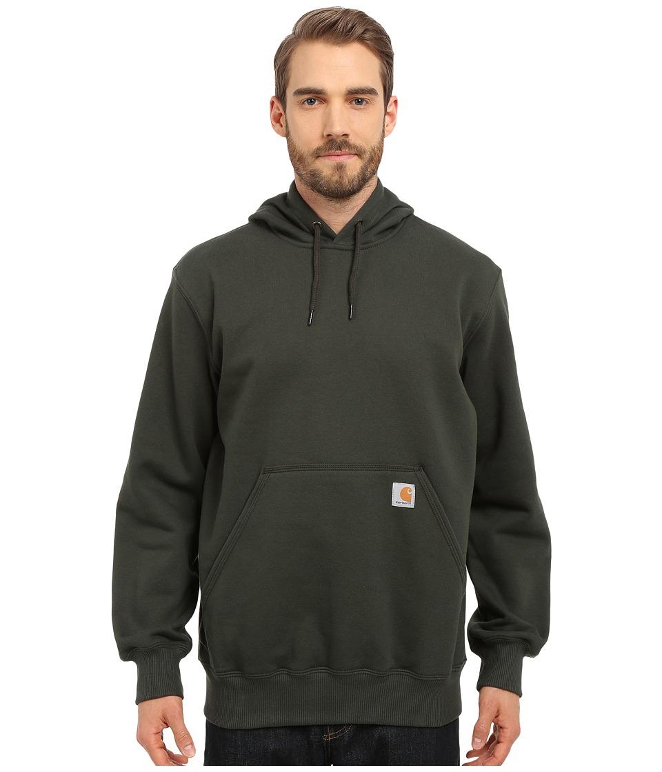 Carhartt - Rain Defender Paxton Heavyweight Hooded Sweatshirt (Dark Green) Men's Sweatshirt