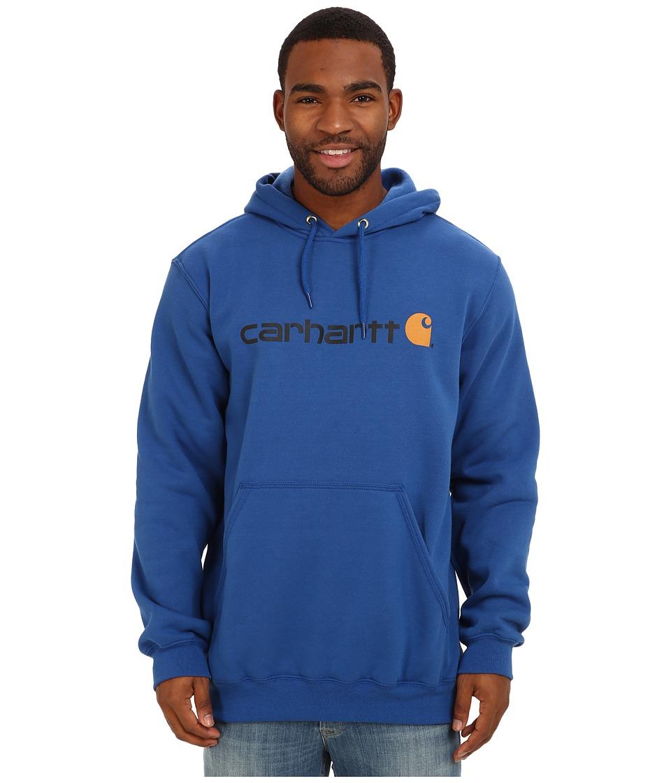 Carhartt - Signature Logo Midweight Sweatshirt (Cobalt Blue) Men's Sweatshirt