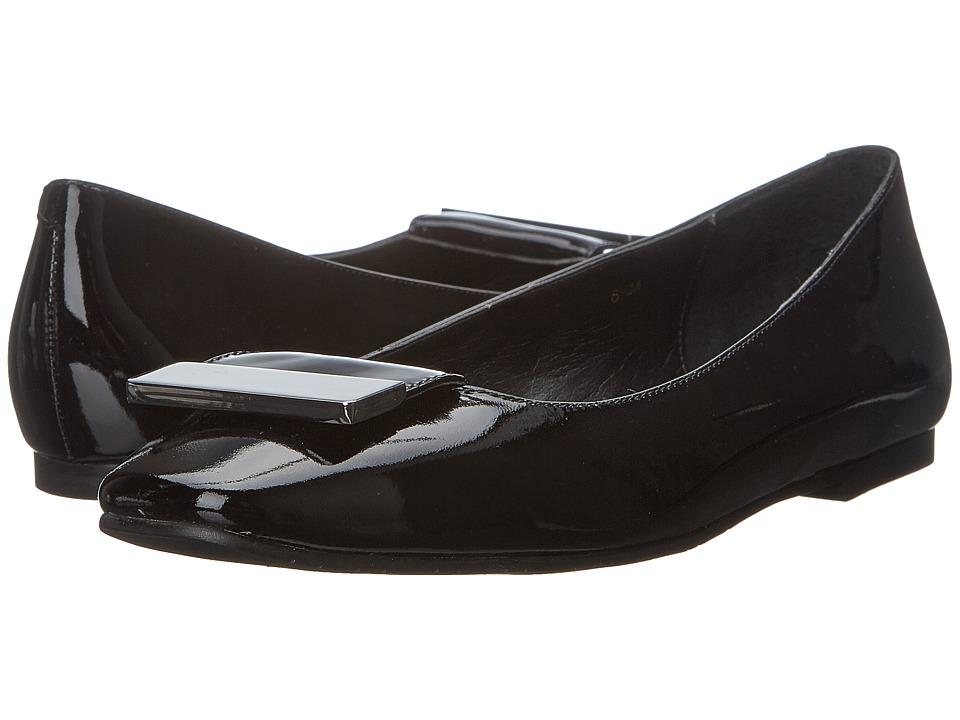 Vaneli - Jalo (Black Patent) Women's Flat Shoes