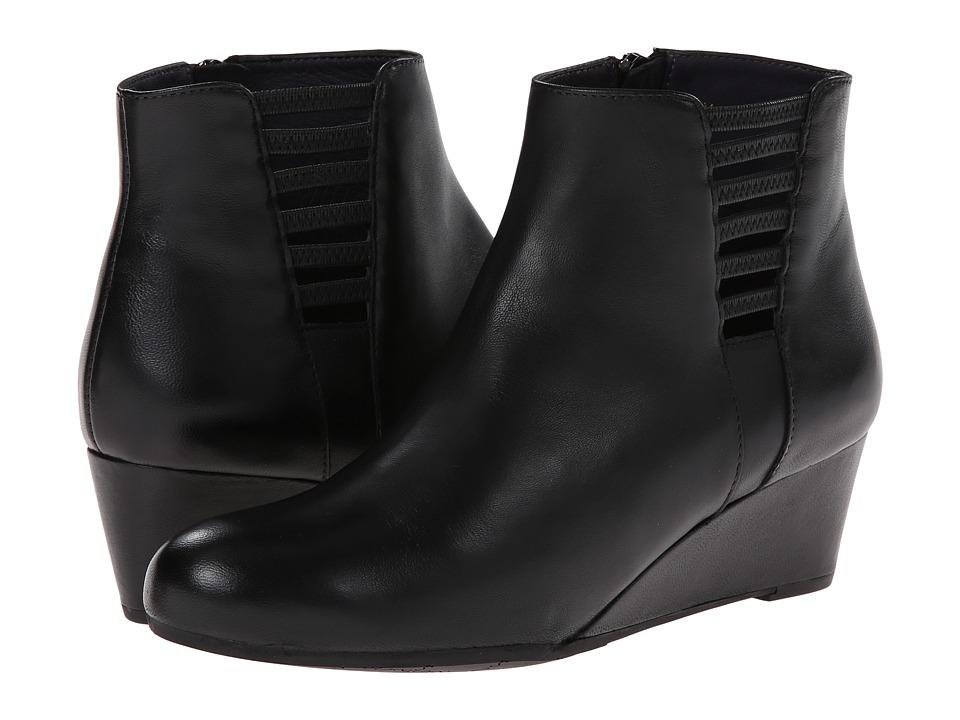 Vaneli - Laban (Black Nappa/Mtch Zipper) Women's Zip Boots