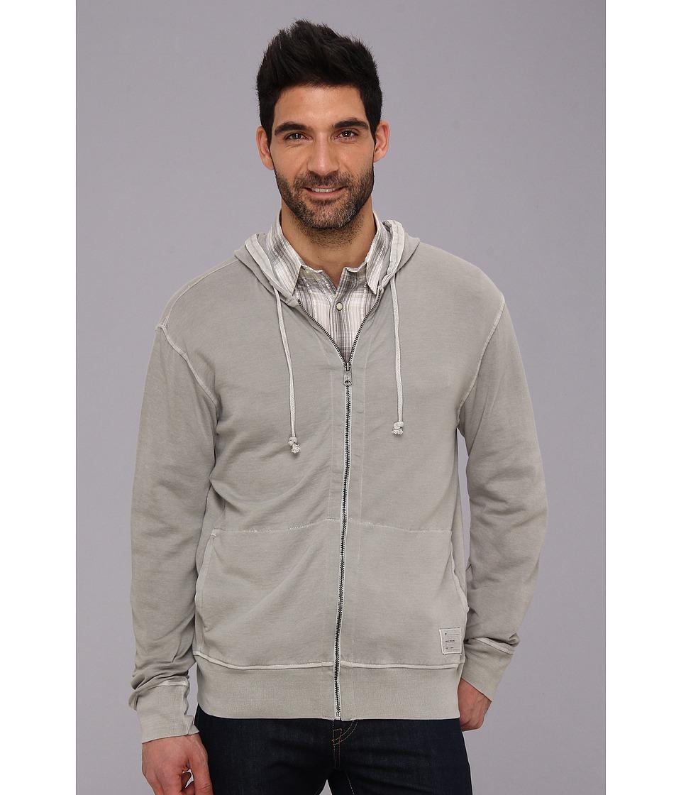 Lucky Brand Duofold Hoodie Sweatshirt Mens Sweatshirt (Brown)