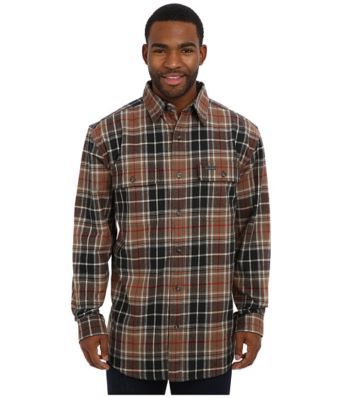 Carhartt - RD Youngstown Flannel Shirt Jacket (Canyon Brown) Men's Coat