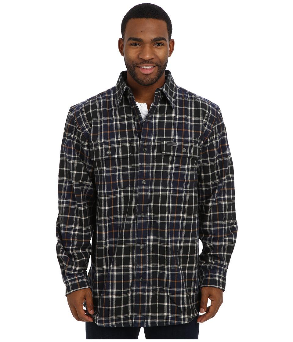 Carhartt - RD Youngstown Flannel Shirt Jacket (Navy) Men
