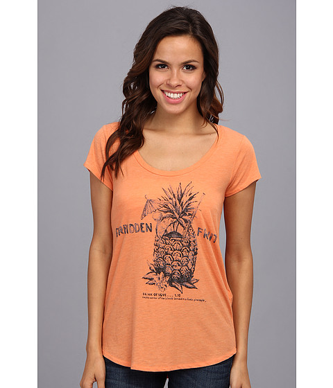 Lucky Brand - Forbidden Fruit Tee (Orange Sunset) Women's T Shirt