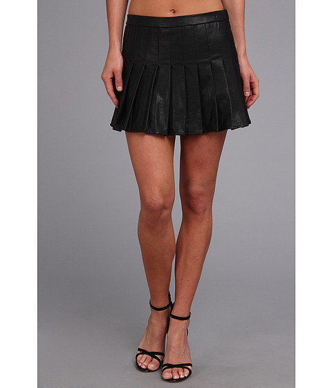 DV by Dolce Vita - Faux Leather Skort (Black) Women