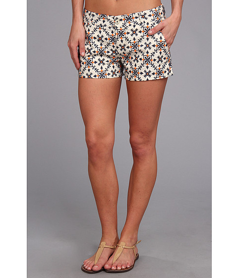 Lucky Brand - Colored Eyelet Short (Natural Multi) Women's Shorts