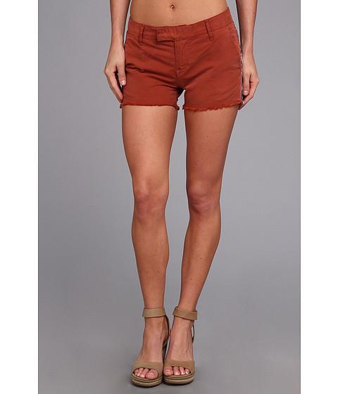 Lucky Brand - Sienna Cut Off Chino (Burnt Henna) Women's Shorts