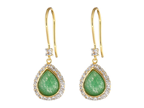 DeLatori - 30-04-P019-52 (Green Agate/Black Spinel) Earring