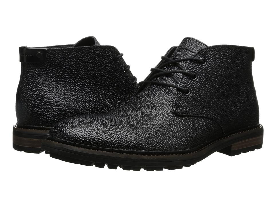 Calvin Klein Jeans - Tezer (Black Textured Leather) Men