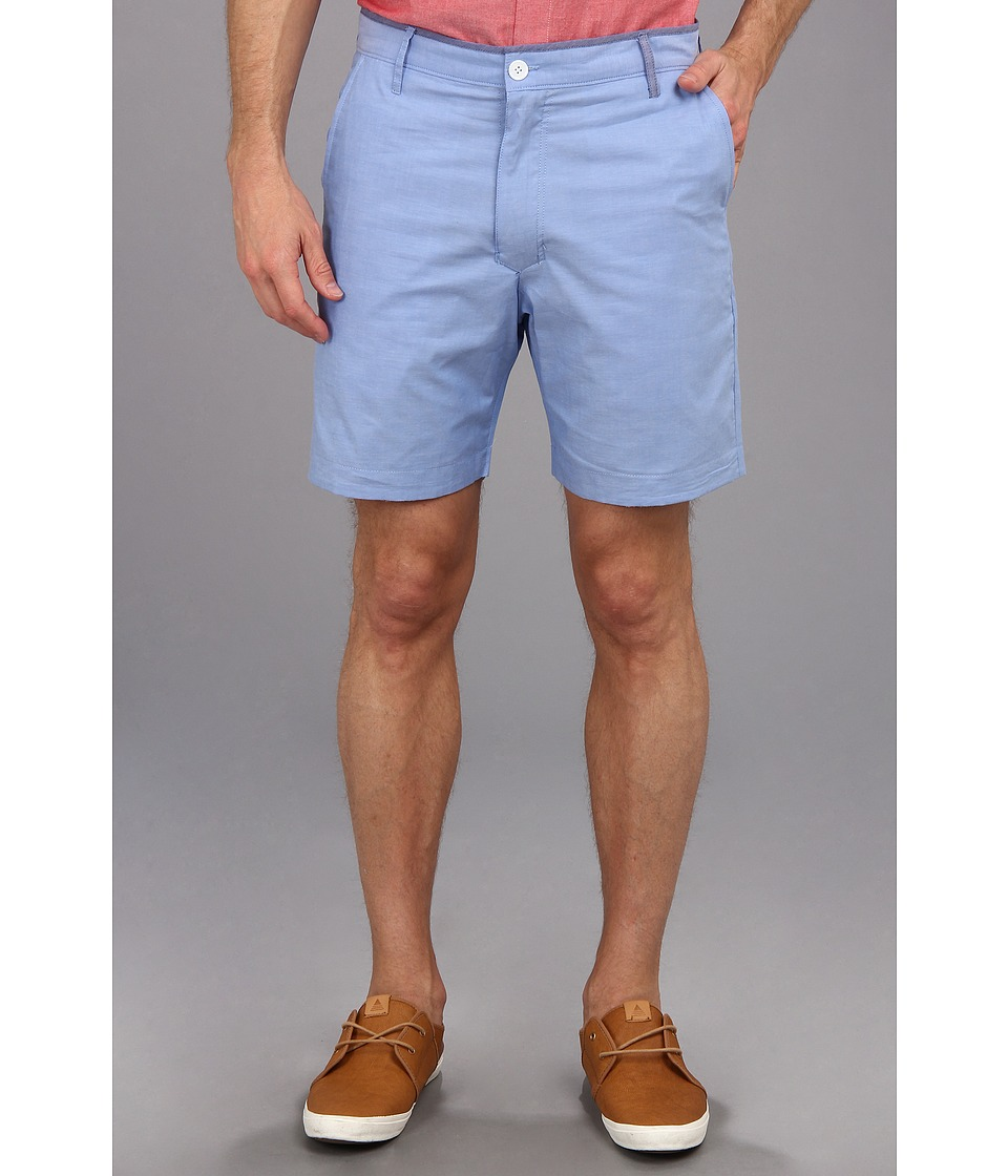 Descendant Of Thieves - Reversible Shorts (Light Blue/Coral Floral) Men's Shorts