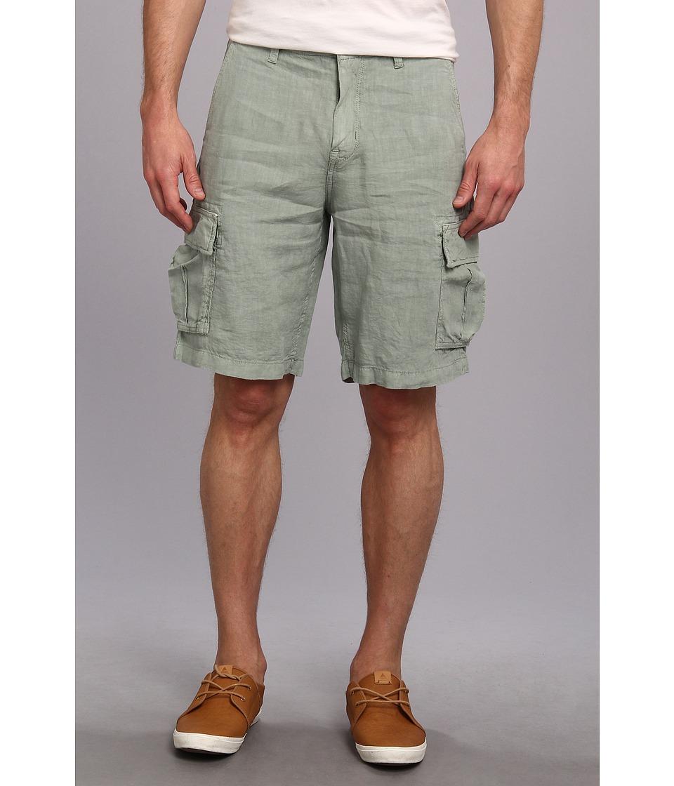 Lucky Brand - North Shore Linen Cargo Short (Lagoon Green) Men's Shorts