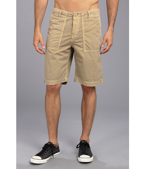 Lucky Brand - Paperweight Short (Khaki Sand) Men's Shorts
