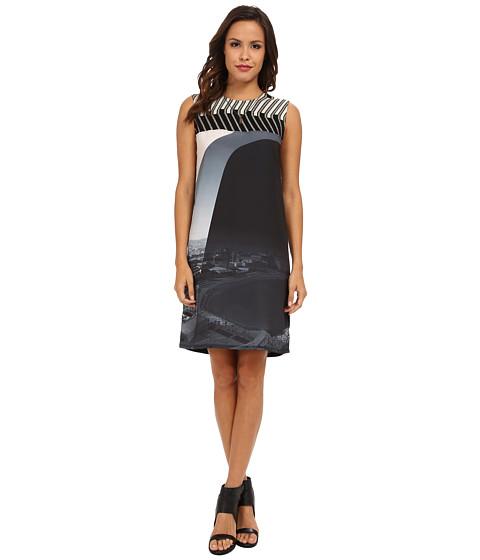 Desigual - Madrid Woven Dress Sleeveless (Black) Women