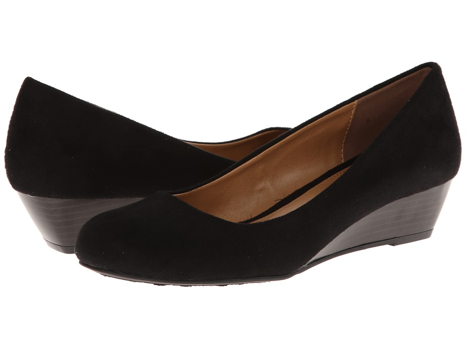 Dirty Laundry - DL Marching (Black) Women's Wedge Shoes