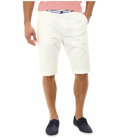Prps Goods & Co - Chino Short (White) Men's Shorts