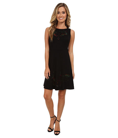 Desigual - Karen Knitted Dress (Black) Women