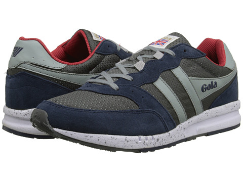 Gola - Samurai (Grey/Navy/Light Grey) Men's Lace up casual Shoes