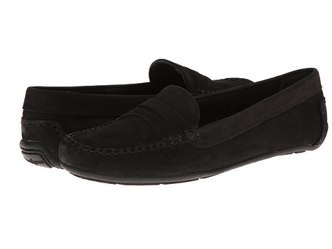 Minnetonka - Penny Driving Moc (Black Nubuck) Women